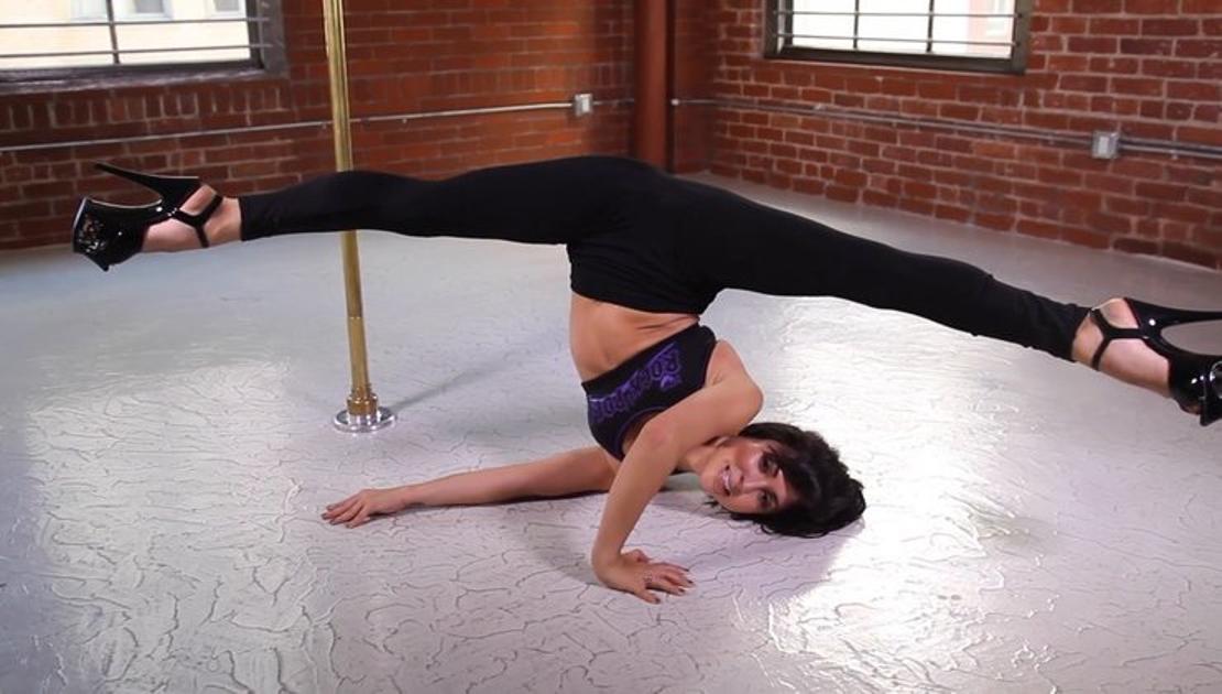 shoulder stand claudia renee floor tutorial | Cleo's Rock ...