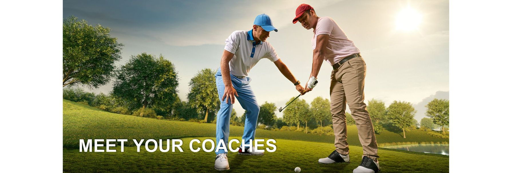 We handpick the very best golf coaches to challenge and inspire you every day.