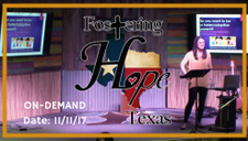 Fostering Hope Texas 11/11/17