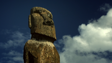 Moai heads, the pride of Rapa Nui