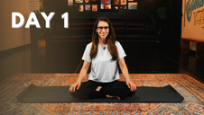 Day 1: 5-Minute Seated Meditation