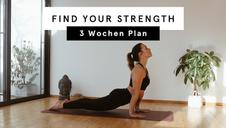 Find Your Strength | 3-Wochen Vinyasa Yoga Plan mit Kerstinloves