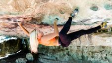 Sierra Blair-Coyle Bouldering Workout