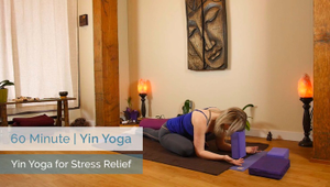 Yin Yoga For Stress Relief | All Levels