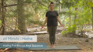 Hatha For Focus And Balance | Beginner
