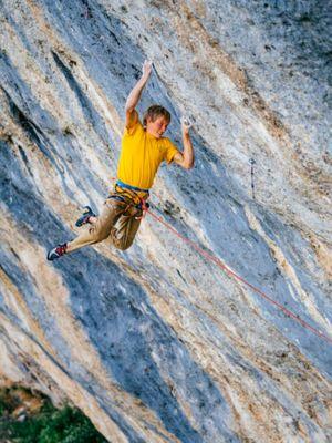 Alex Megos Climbing Training