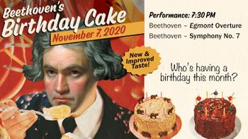 Beethoven's Birthday Cake Livestream Concert