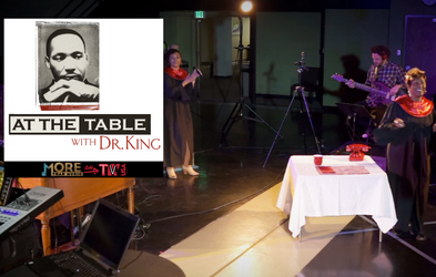 """<p><span class=""""font-bold"""">AT THE TABLE WITH DR. KING</span></p>"""