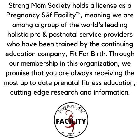 The Strong Mom Society Promise