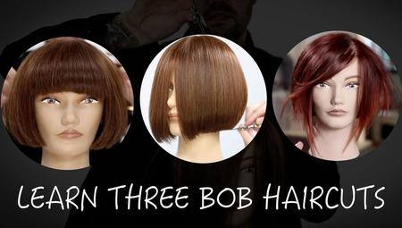 LEARN 3 BOB HAIRCUTS