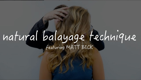 Natural Balayage Technique