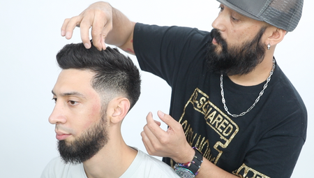 Mid-Low Fade
