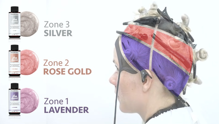 Zone Toning - A Creative Way To Tone Blonde Hair