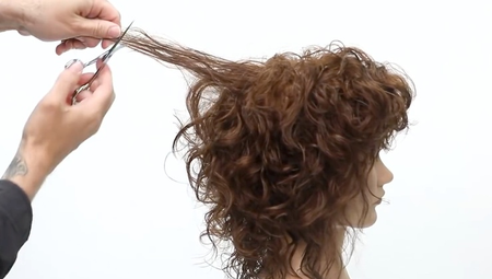Cutting a Curly Shag Full Class