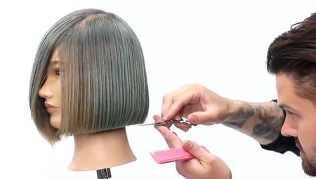 One Length Bob Haircut Class