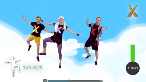 Cloud Jumping Fitness