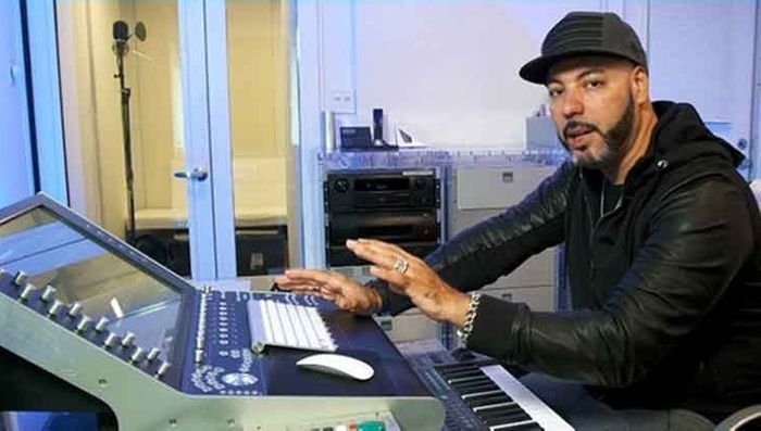 In the studio w/ Roger Sanchez