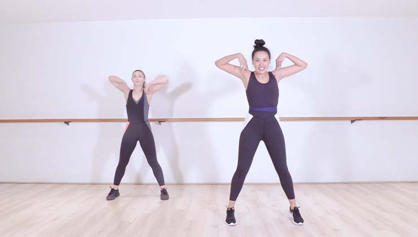Dance Cardio Party with Sarah and Liz