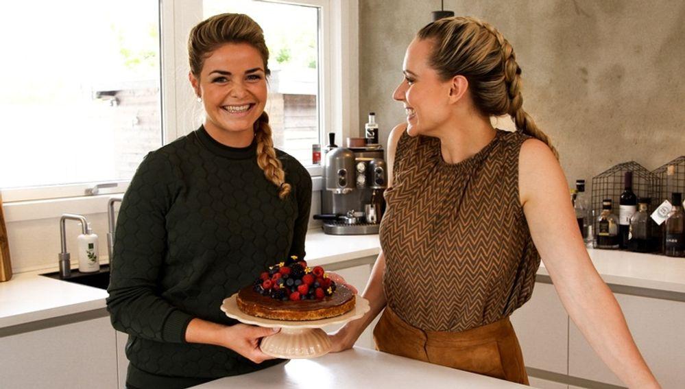 Ditte Julie & Frida bager sund banankage