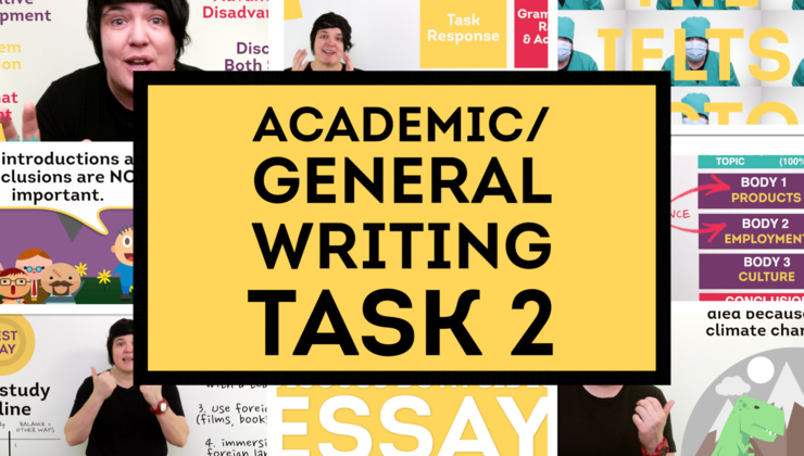 IELTS Writing Task 2 (Academic & General Training)
