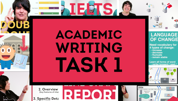 IELTS Academic Writing Task 1