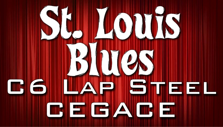 St. Louis Blues - C6 - Lap Steel