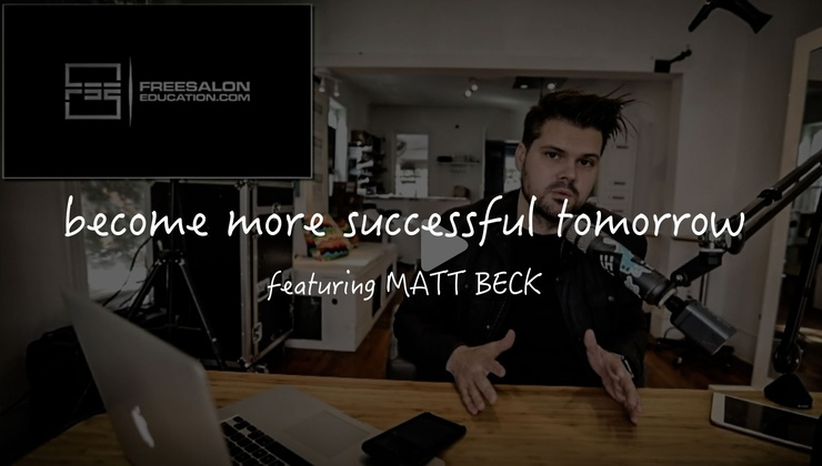 BECOME MORE SUCCESSFUL STARTING TOMORROW