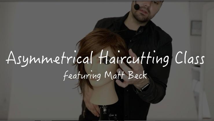 ASYMMETRICAL HAIRCUTTING CLASS