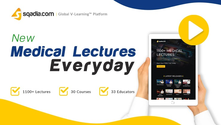 New Medical Video Lectures Everyday