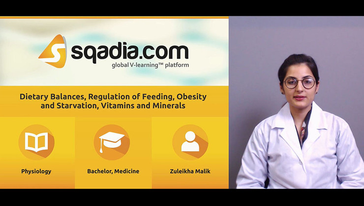 Dietary Balance, Regulation of Feeding, Obesity and Starvation, Vitamins and Minerals