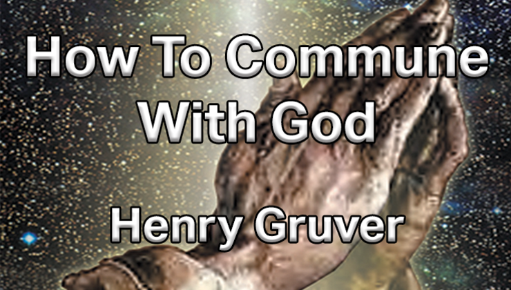 How to Commune with God