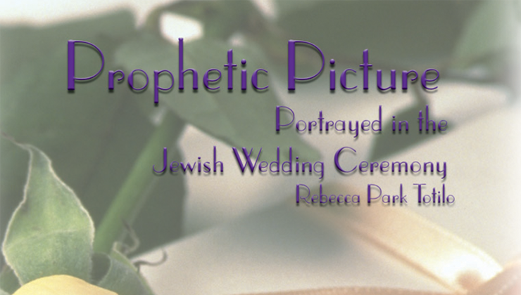 Prophetic Picture Portrayed in the Jewish Wedding Ceremony