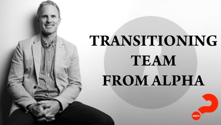 Transitioning Team from Alpha