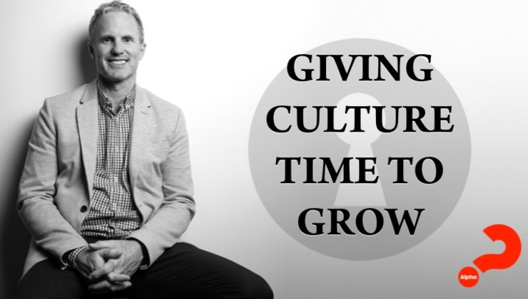 Giving Culture Time to Grow
