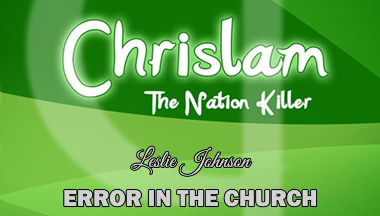 Chrislam: The Nation Killer