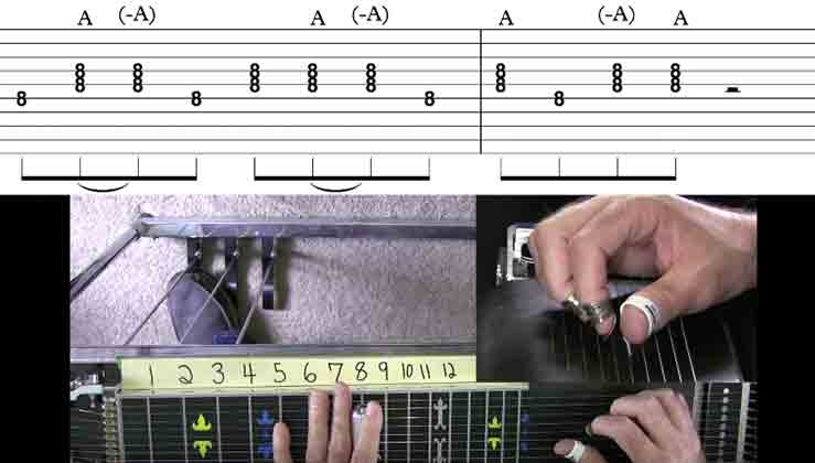 Pedal Steel Basics - 10 - Fun Movable Licks