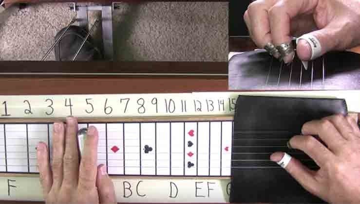 Hudson 6 String Pedal Steel Basics - 07 - C6 Sounds For E9 Hudson