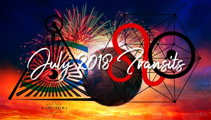 July 2018 Transits