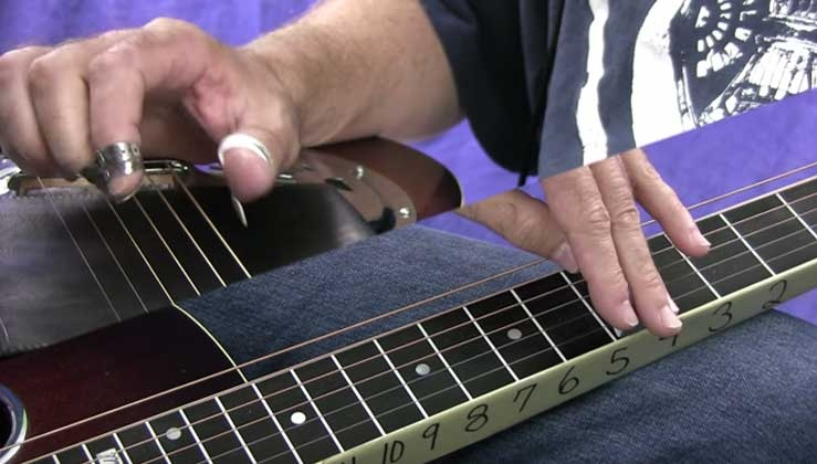 Note Choice, Style, and Phrasing - Dobro - Open G