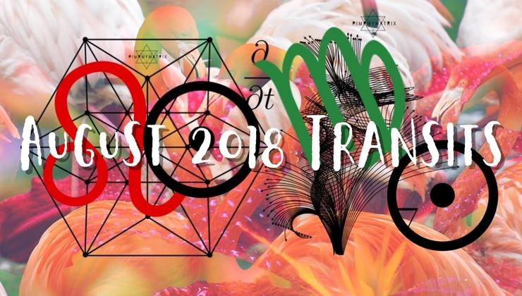 August 2018 Transits