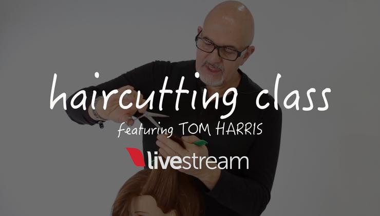 Haircutting Class with Tom Harris