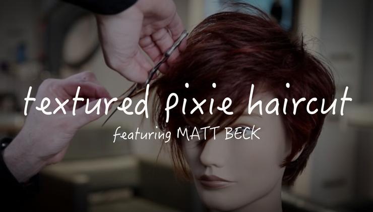 Textured Pixie Haircut