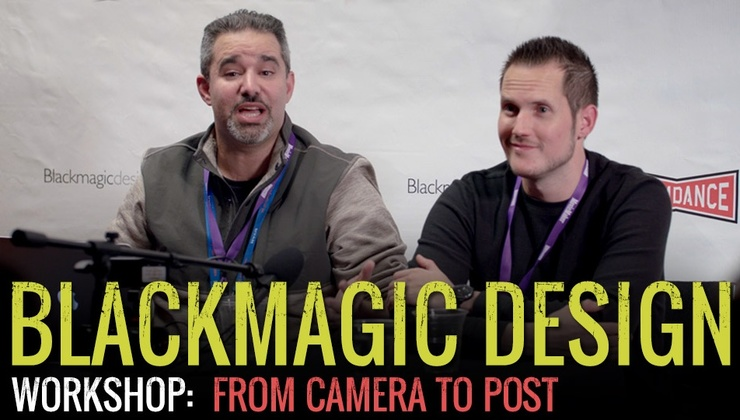 Slamdance/Blackmagic Design Workshop - From Camera Post