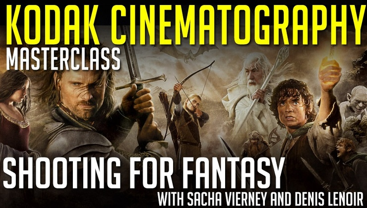 Kodak Masteclass Series: Shooting For Fantasy with Sacha Vierney and Denis Lenoir