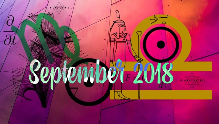 September 2018 Daily Quantum Astrology and Starseed DNA Translation