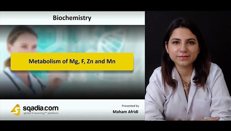 Metabolism of Mg, F, Zn and Mn