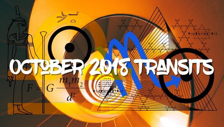 October 2018 Transits