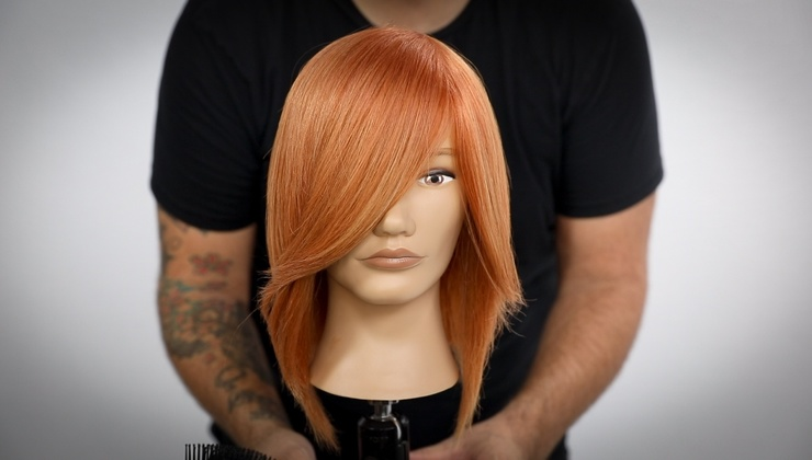 Natural Copper Color Technique