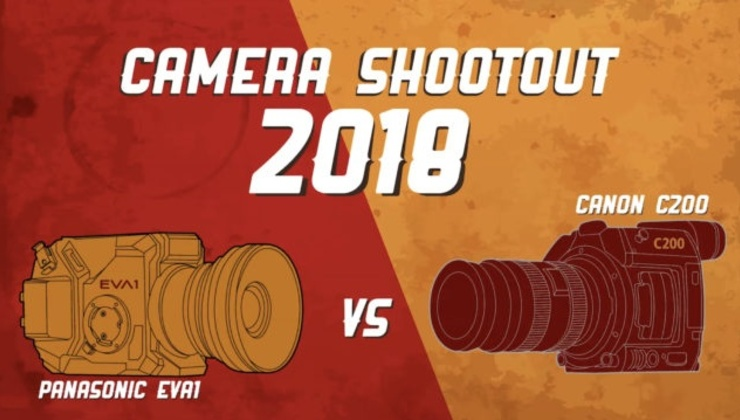Canon C200 vs Panasonic EVA1 – Camera Shootout 2018