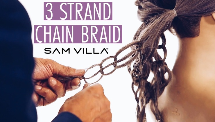 Chain Braid - How to Create with 3 Strands